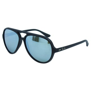 Ray Ban Unisex 'RB 4125 CATS 5000 601-S/30' Aviator Sunglasses