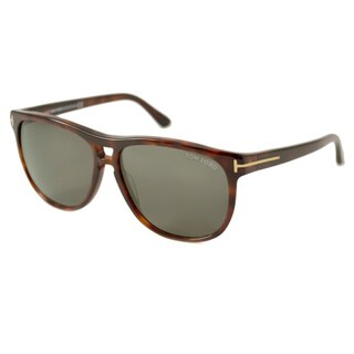 Tom Ford Unisex Lennon Dark Havana Sunglasses