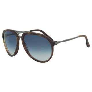 Gucci Unisex 'GG 1031/S X6308' Wood Ruthenium Sunglasses