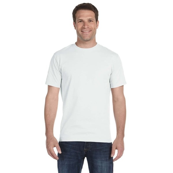 Anvil Men's American Heavyweight Cotton Undershirts (Pack of 12)