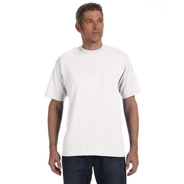 Anvil Men's American Heavyweight Pocket Undershirts (Pack of 12)