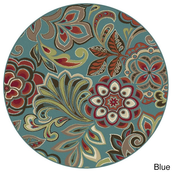 Alise Decora Transitional Area Rug (7'10 Round)
