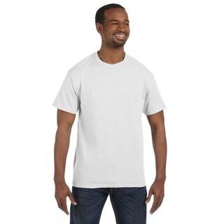 Gildan Men's White Heavy Cotton Undershirts (Pack of 12)
