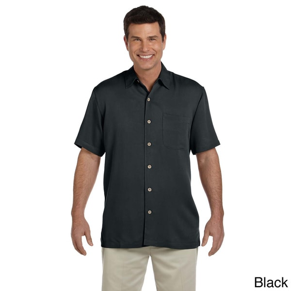Men's 'Isla' Coconut Button-up Camp Shirt 12989879