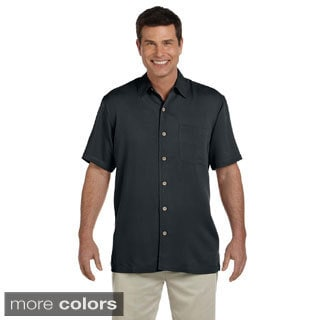 Men's 'Isla' Coconut Button-up Camp Shirt