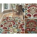 Decora Transitional Area Rug (5'3 x 7'3)