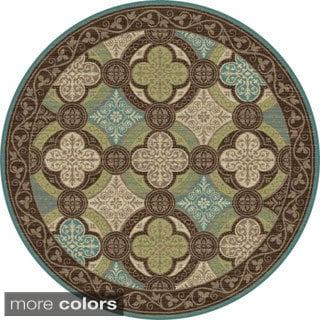 Caprice Transitional Area Rug (5'3 Round)