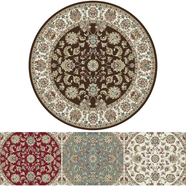 Alise Caprice Traditional Area Rug (5' 3 Round)