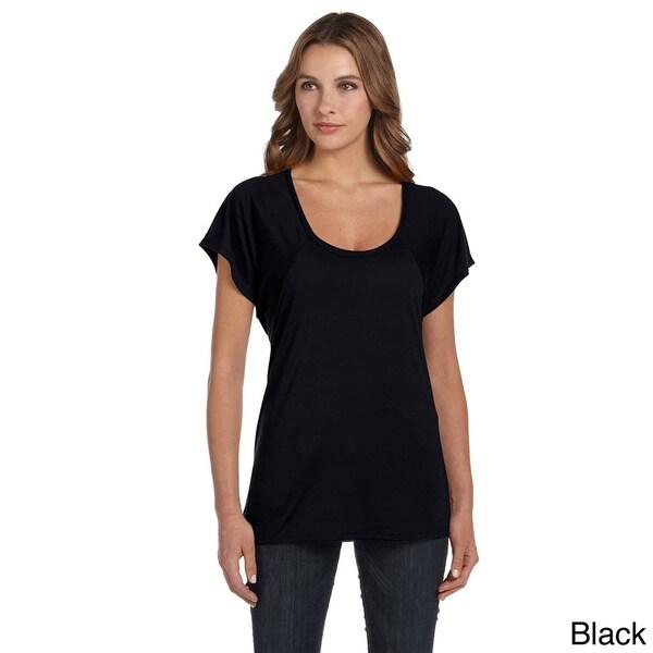 Women's Flowy Raglan T-shirt