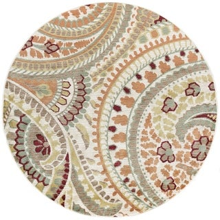 Decora Transitional Area Rug (5'3 Round)