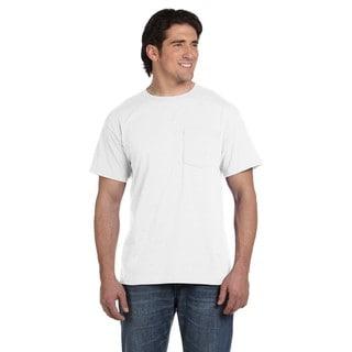 Fruit Of The Loom Men's 50/50 Best Pocket Undershirt (Pack of 12)