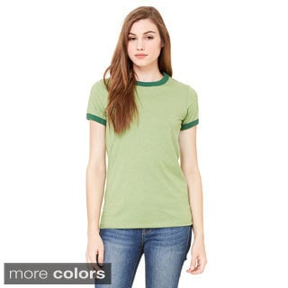 Bella Women's Heather Ringer T-shirt