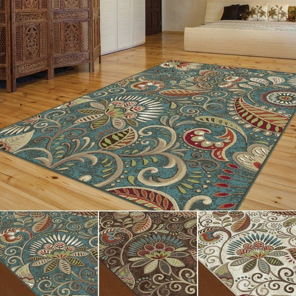 Caprice Transitional Area Rug 8 X 10 Overstock