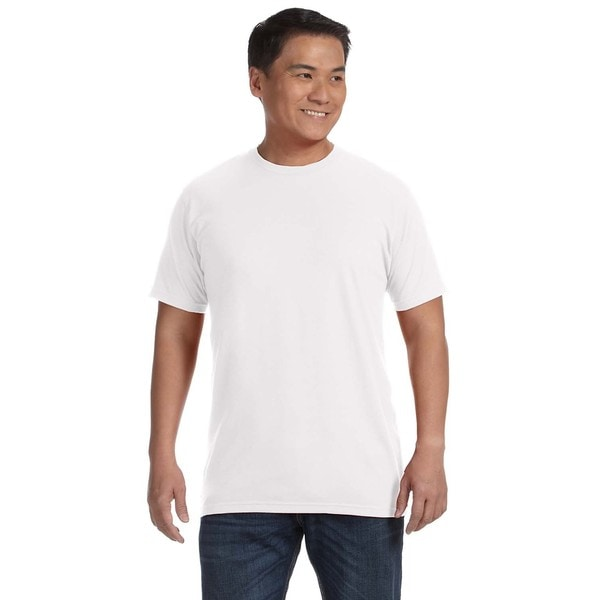 Anvil Men's Ringspun Cotton Undershirts (Pack of 12)
