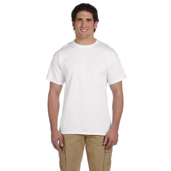 Jerzees Men's 50/50 Heavyweight Blend Pocket T-shirts (Pack of 12)