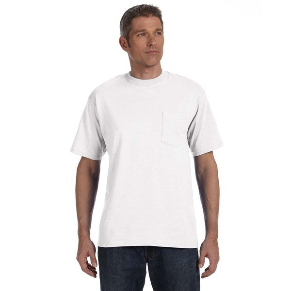Anvil Men's Heavyweight Pocket Undershirts (Pack of 12)