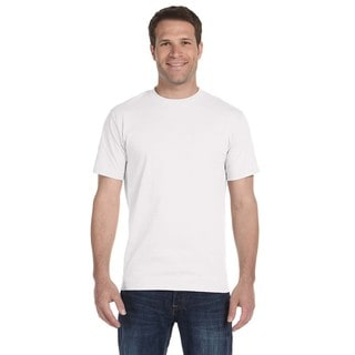 Gildan Men's White Dryblend 50/50 Undershirts (Pack of 6)