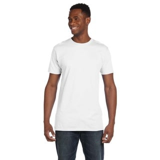 Hanes Men's Ringspun Cotton Nano-T Undershirts (Pack of 6)