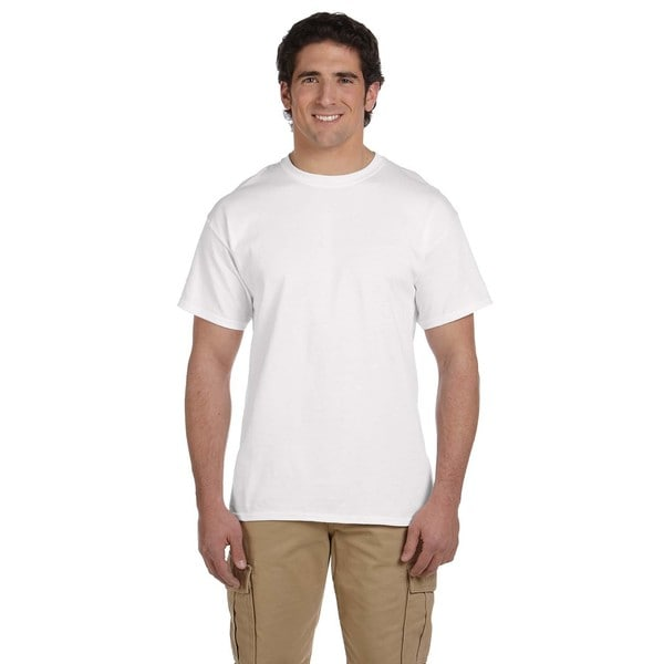 Jerzees Men's 50/50 Heavyweight Blend Pocket T-shirts (Pack of 6)