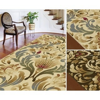 Alise Lagoon Transitional Area Rug (7'6 x 9'10)