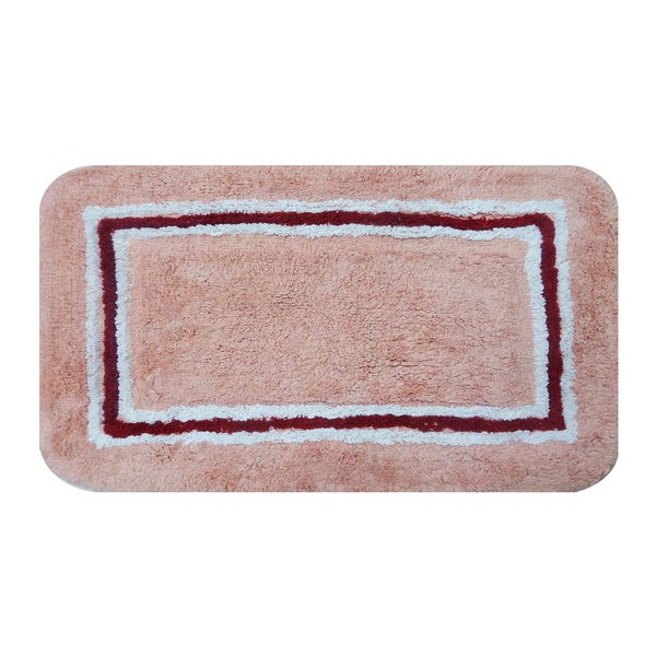 Aurora Salmon 20 x 32 Bath Rug (Set of 2)
