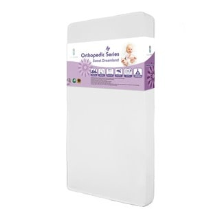 LA Baby 3 inch Organic Cotton pact Crib Mattress