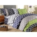 Scroll Park 600 Thread Count 3-piece Duvet Cover Set
