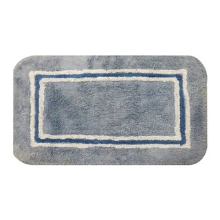 Aurora Blue 20 x 32 Bath Rug (Set of 2)