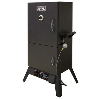 Smoke Hollow 38-inch Dual Door Vertical LP Gas Smoker