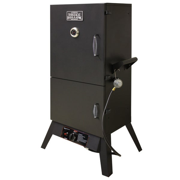 Smoke Hollow 38-inch Dual Door Vertical LP Gas Smoker 12991800
