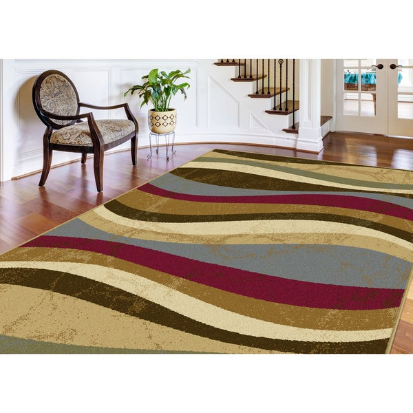 Lagoon Multi Contemporary Area Rug
