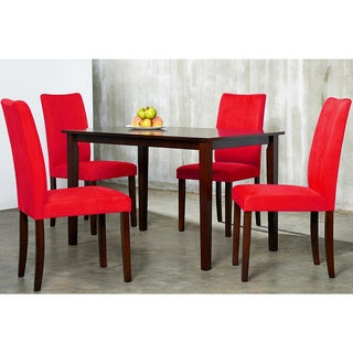 Warehouse of Tiffany's 5-piece Red Blue Shino Dining Set