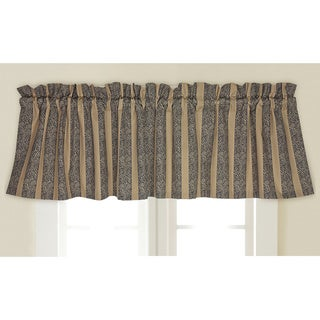 Rose Tree Tanzier Stripe Window Valance