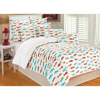 Aruba Fish 3-piece Comforter Set