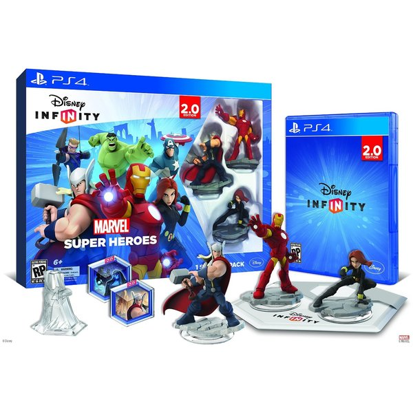 PS4 - INFINITY 2.0 Starter Pack - Marvel Super Heroes 12994142