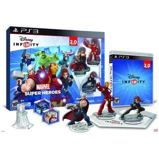 PS3 - INFINITY 2.0 Starter Pack - Marvel Super Heroes