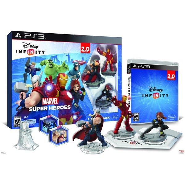 PS3 - INFINITY 2.0 Starter Pack - Marvel Super Heroes 12994143