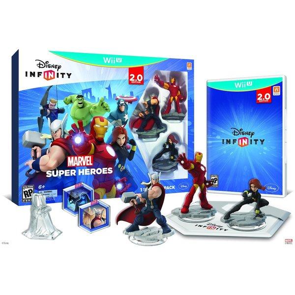 Wii U - INFINITY 2.0 Starter Pack - Marvel Super Heroes 12994146