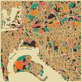 Jazzberry Blue 'San Diego' Fine Art Giclee Print
