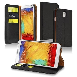 INSTEN Stand Wallet Leather Case with Card Slots for Samsung Galaxy Note III N9000
