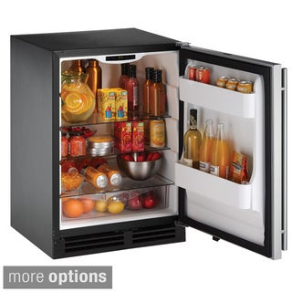 Compact Stainless Steel Refrigerator