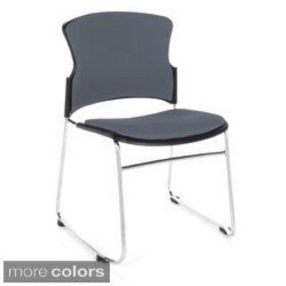 OFM Multi-use Fabric-covered Seat and Back Stacker Chairs (Pack of 40)