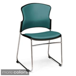 OFM Multi-use Vinyl Stackable Chairs (Pack of 40)