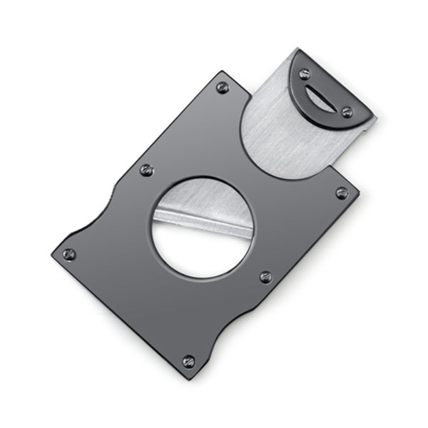 Stainless Steel Gunmetal Cigar Cutter