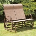 Havana Bronze Twin Seat Outdoor Glider