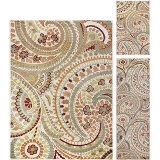 Decora Ivory Set Transitional Area Rug Set