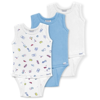 Spencer's Boys' Sleeveless Bodysuit in Blue (3 Pack)