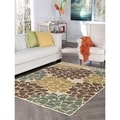 Alise Decora Ivory Transitional Area Rug (7'10 x 10'3)