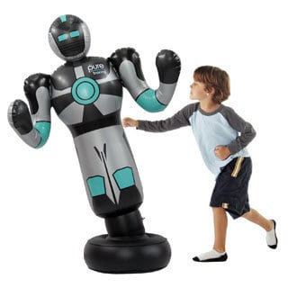 Pure Fun Inflatable Robo Boxer Punching Bag