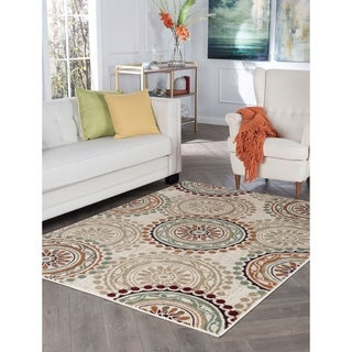 Decora Ivory Transitional Area Rug